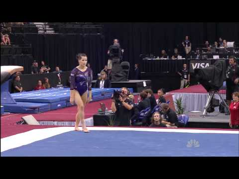 Alicia Sacramone - Floor Exercise - 2011 Visa Championships - Women - Day 2