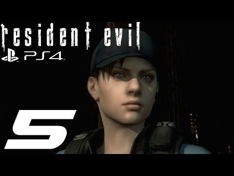 Resident Evil HD Remaster (PS4) - Jill Walkthrough Part 5 - Residence & Sharks