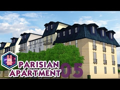 The Sims 3 -Speed Build- Parisian Apartment No. 05
