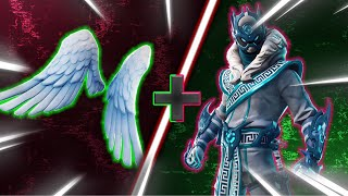 "Top 5 BEST ""ARK WINGS"" SKIN + BACK BLING COMBINATIONS in Fortnite"