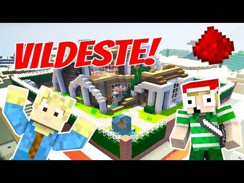Dansk Minecraft - Redstone: MEST OP REDSTONE HUS!!
