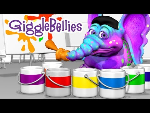 Colors Of The Rainbow  Learning Songs  GiggleBellies