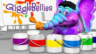 Colors Of The Rainbow | Learning Songs | GiggleBellies