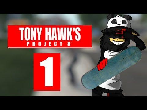Tony Hawk's Project 8 [Let's Play] ☆01☆ - Direkt Hardcore