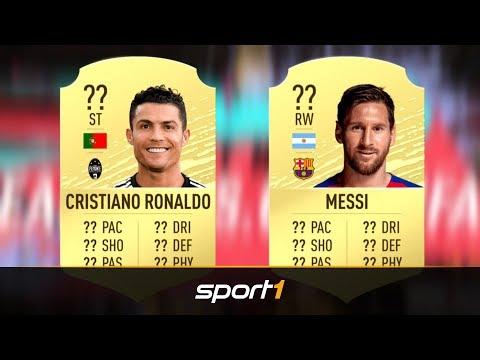 FIFA-20-Ratings veröffentlicht: Messi besser als Ronaldo | SPORT1