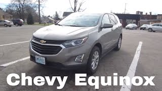 2018 Chevrolet Equinox LT | Full Rental Car Review and Test Drive