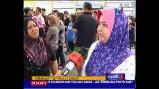 PIALA FA - JUALAN TIKET JDT VS PAHANG LANCAR [2 MAC 2015]