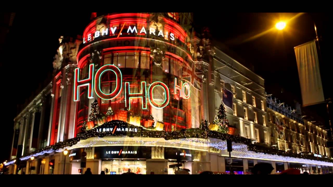 Paris illuminations de no l 2015 youtube - Illumination noel paris ...