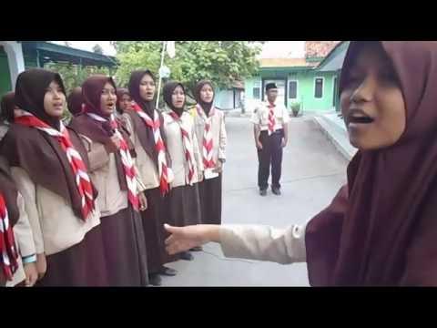 Paduan Suara SMA NEGERI 1 KRAMAT Hymne Pramuka HUT PRAMUKA 55 Th