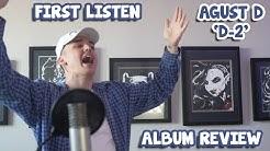 AGUST D 'D-2' FIRST LISTEN / ALBUM REVIEW