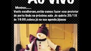 Boneco de neve – Protetor de porta