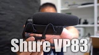 Shure VP83 LensHopper Shotgun Mic Unboxing