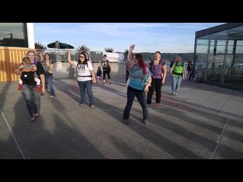 "Babywearing International of Kitsap Peninsula - ""The Right Stuff"" Flash Mob"