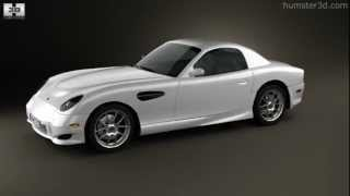 Panoz Esperante GT 2012 by 3D model store Humster3D.com