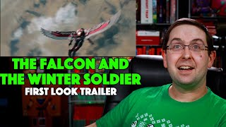 Here's my reaction to the first look trailer for new disney+ marvel series, falcon and winter soldier! we finally get see some real footage fr...
