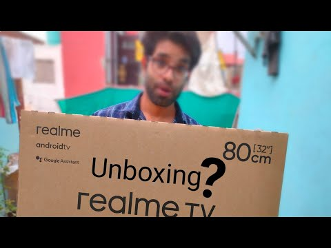 Realme TV 32inch Unboxing & First Look - Best Budget Smart TV ???🔥🔥🔥