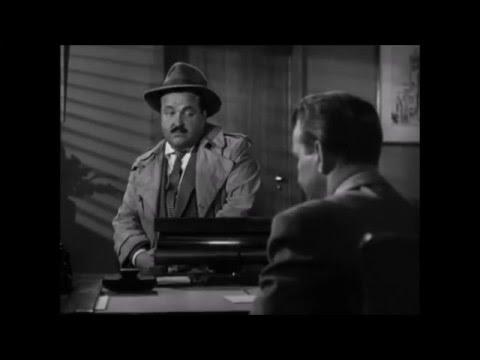 The Racket 1951  William Conrad   as  Det. Sgt. Tur