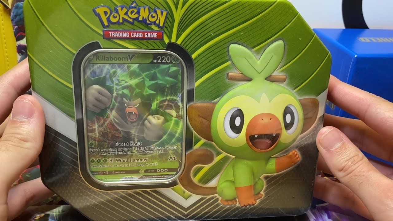Grookey Gx – Grookey is the pokemon whish has one type (grass) from the 8 generation.
