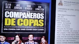 COMPAÑEROS DE COPAS - [2013] [Audio Latino] [BRrip] [2 Link] [BITSHARE] [BILLIONUPLOADS]