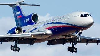 Новогодний Ту-154 — Поздравление от Filinvideo / 2020