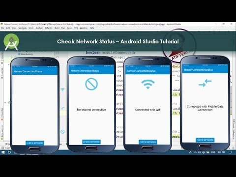 Check Network Status – Android Studio Tutorial