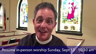 Noonday Prayer Worship in the World 8 19 20