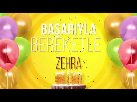 İyi ki doğdun ZEHRA- İsme Özel Doğum Günü Şarkısı (FULL VERSİYON)