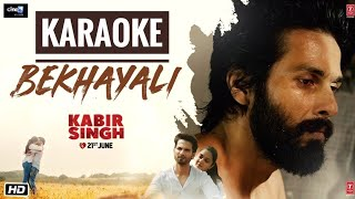 bekhayali-kabir-singh---karaoke-with-latest-bollywood-karaoke-songs