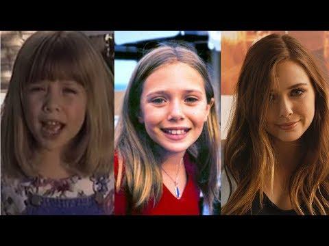 Elizabeth Olsen From 5 to 28 Years Old - Wild Wolf