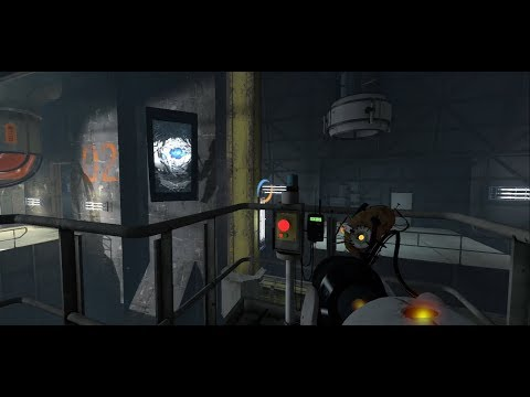 Smashing ANOTHER WHEATLEY SCREEN! in Portal 2!