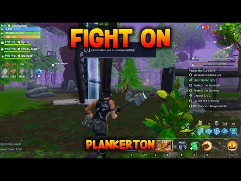 FIGHT ON - Rebuild 4 Survivor Relays - Fortnite Save The World