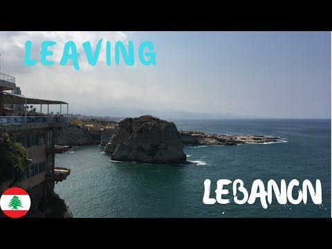 My LAST DAYS in LEBANON and nearly MISSING MY FLIGHT Home! | Lebanon Travel 2018