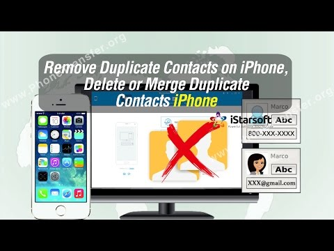 Remove Duplicate Contacts on iPhone, Delete or Merge Duplicate Contacts iPhone