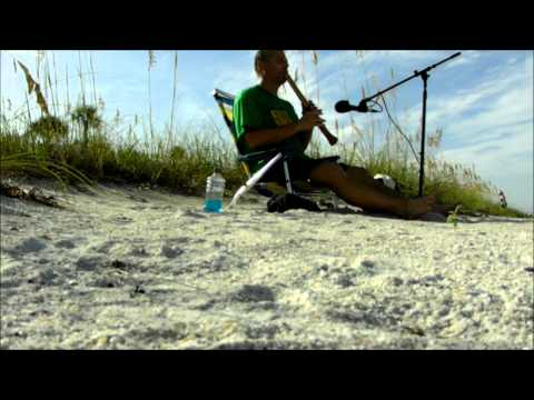 Labor Day Beach Song - Shakuhachi from St. Pete Beach, Florida