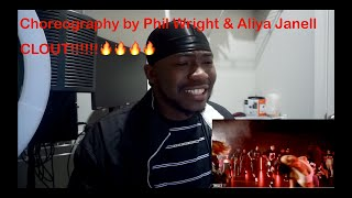 Offset - Clout ft. Cardi B | Choreography by Phil Wright & Aliya Janell (REACTION)