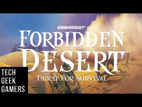 Let's Play Forbidden Desert - Board Game Play Through