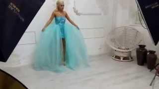 Сара Окс бэкстэйдж - платья от Ирины Стрижановой