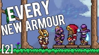 Terraria 1.3.4 - Every New Armour! [2] Valhalla, Dark Artist's, Red Riding, Shinobi BEST NEW ARMOUR