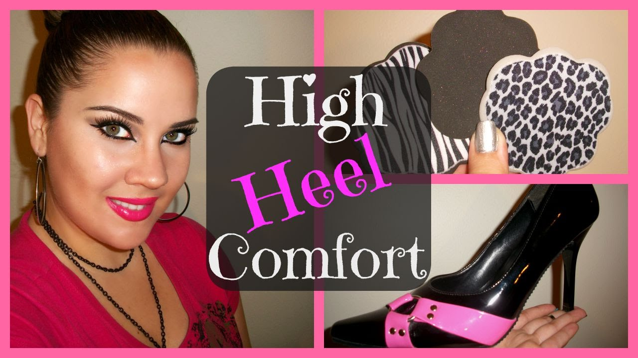 How to Walk in High Heels...Comfortably! - How To Walk In High Heels...Comfortably! - YouTube