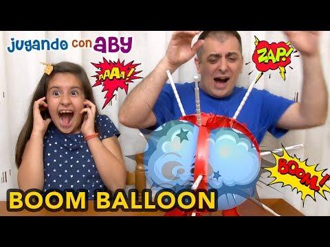 Jugamos a EXPLOTAR GLOBOS a lo loco! Boom Boom Balloon