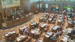 "Senator deemed ""threat"" returns for last day of the Oregon legislative session"