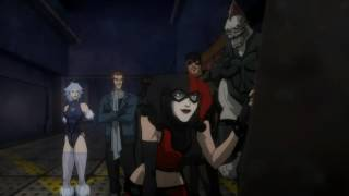 Harley Quinn & Shark | Batman: Assault on Arkham [Русские субтитры]
