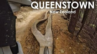 AWESOME DH TRAILS Queenstown Skyline Bike Park | GoPro | Jordan Boostmaster