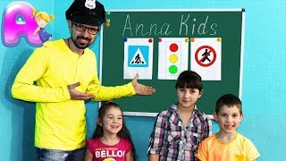 Back to school - learn rules of the road