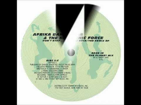 Afrika Bambatta - Planet Rock (Bass In The Planet Mix by DJ Magic Mike)