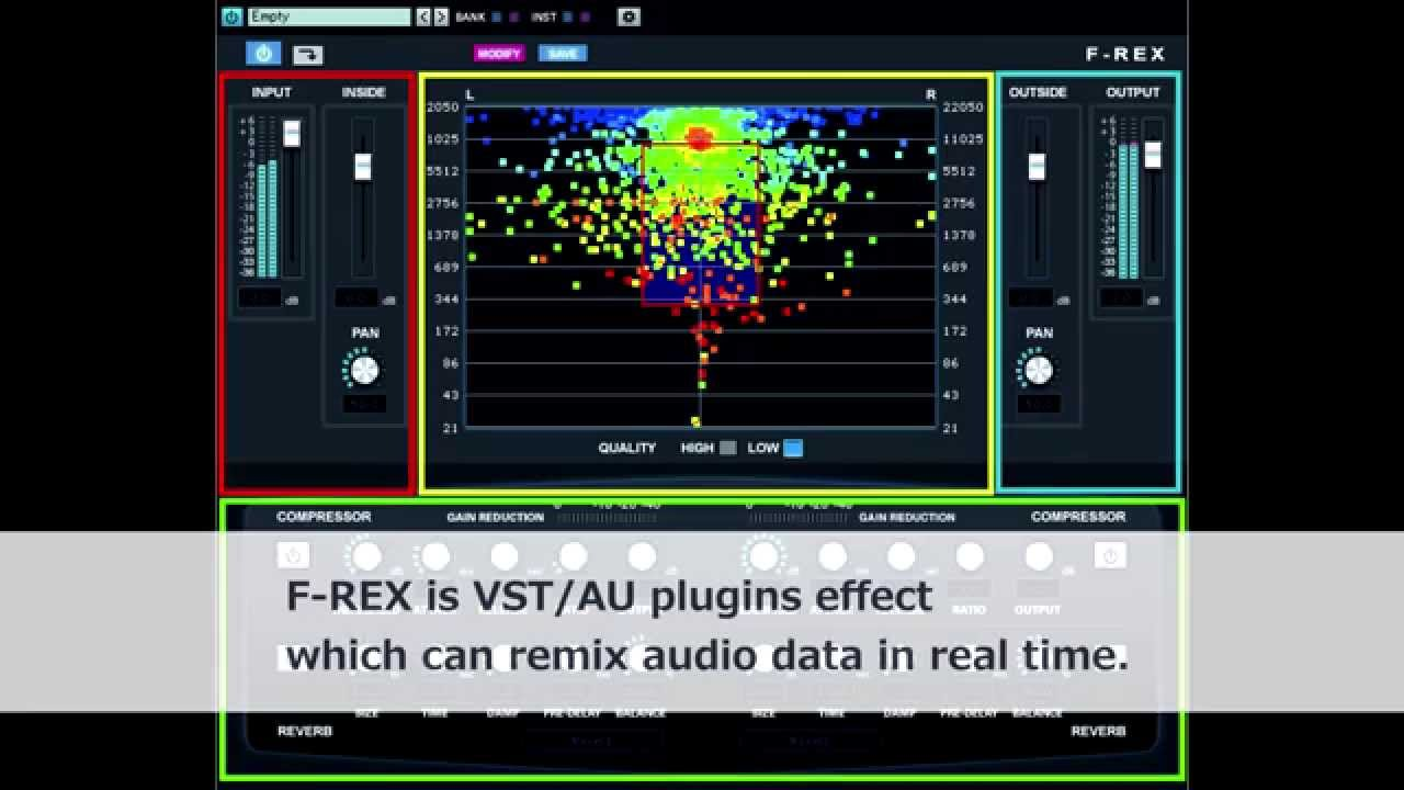 Audio remix software F-REX | INTERNET Co , Ltd