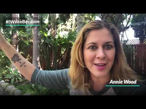 Annie Wood  IWriteBecause