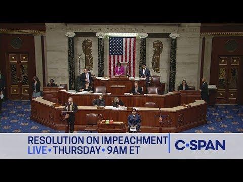 LIVE: U.S. House Debate & Vote on Impeachment Inquiry Resolution