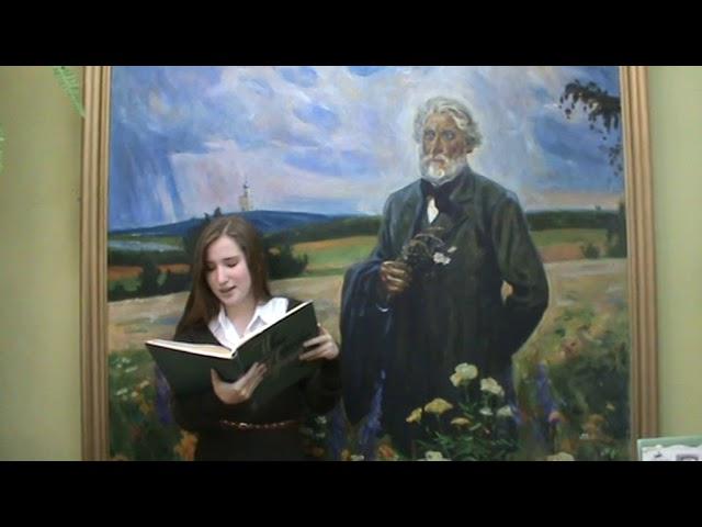 Изображение предпросмотра прочтения – КаринаАмбарцумян читает произведение «Как хороши, как свежи были розы...» И.С.Тургенева