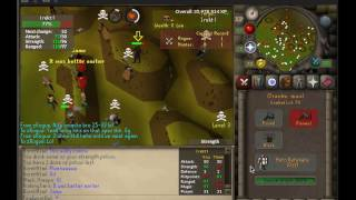 fineiwontbot pk vid 1 OP g maul pure, 31 pray fire cape, b ring (i)